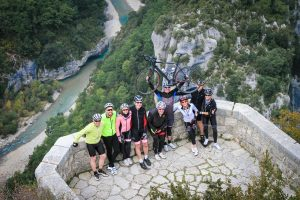 Gorges du Verdon - Cyclists - Velovation.co.uk