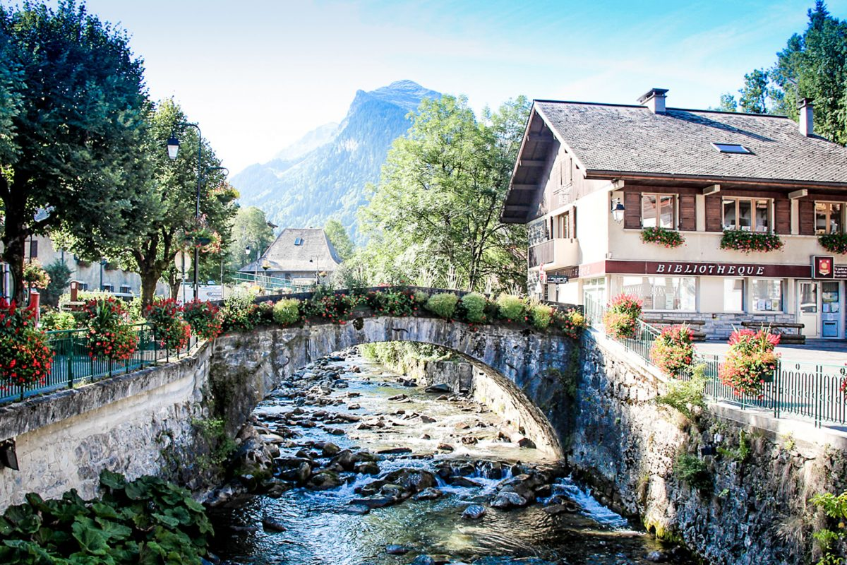 Morzine in the summer, Velovations home town and the finish point of the Annecy to Morzine tour