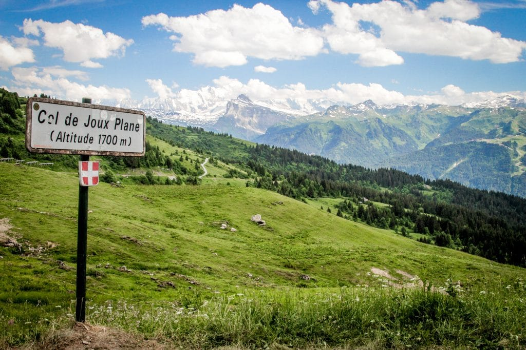 Views from the Col de Joux Plane
